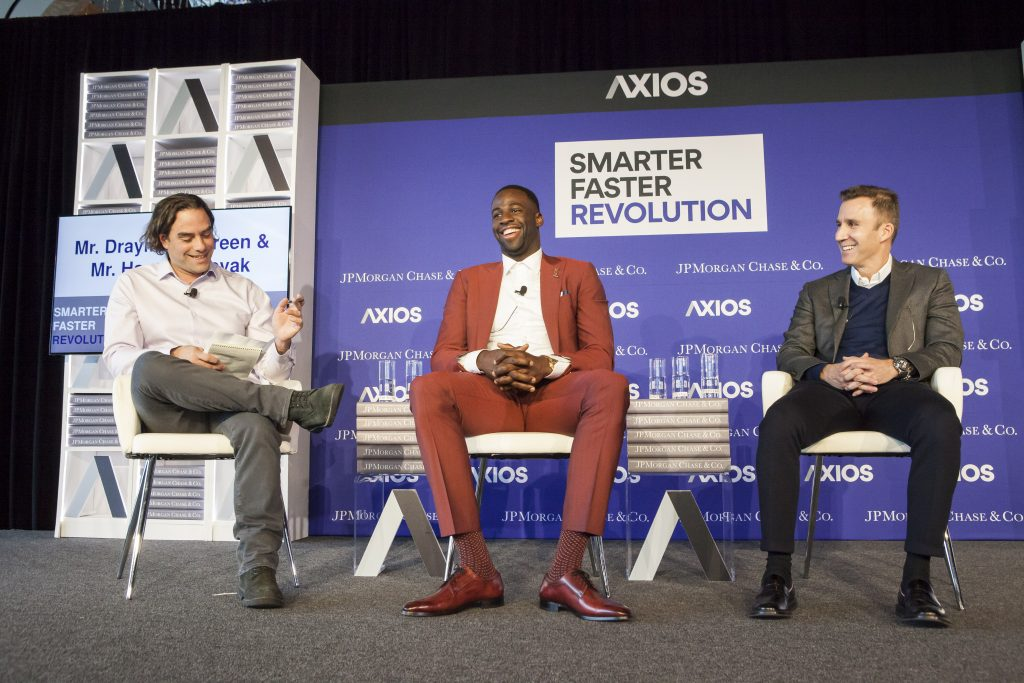 JP MORGAN CHASE & AXIOS CONFERENCE EVENT