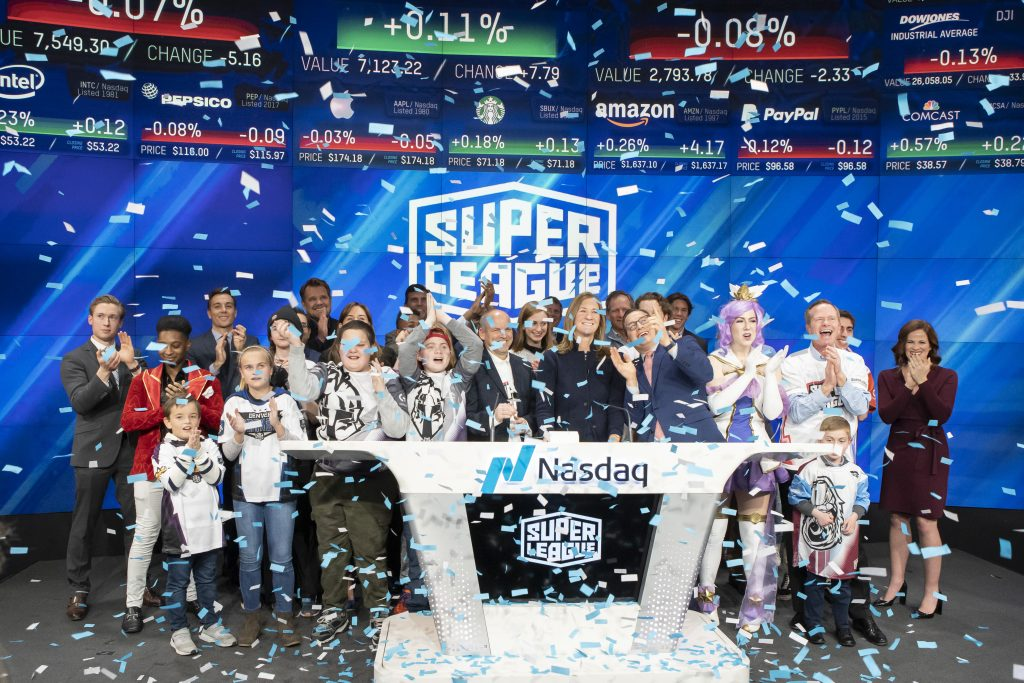NASDAQ CLOSING BELL BY SUPER LEAGUE